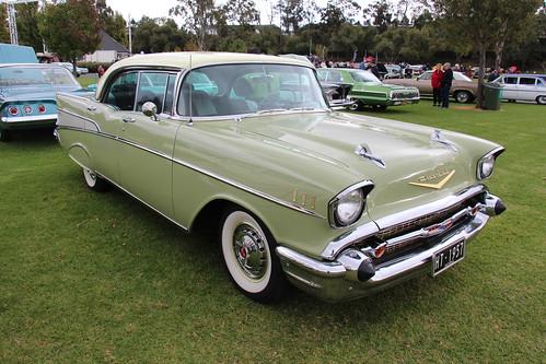 1957 Chevrolet Bel Air 4 Door Hardtop Laurel Green