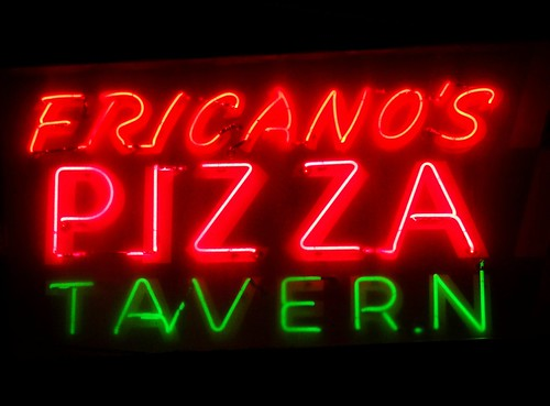 MI, Grand Haven-Fricano's Pizza Tavern Neon Sign | by Alan C of Marion,IN