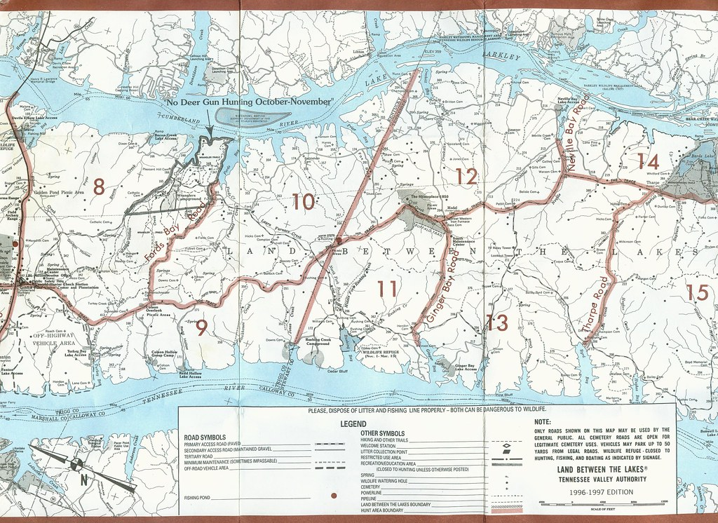 Lbltva Hunt Map L MiddleSouth Tripp Scott Flickr - Tva hunting maps