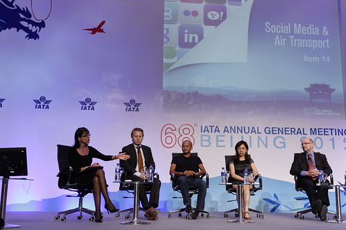 Social Media and Air Transport Panel | by IATA - International Air Transport Association