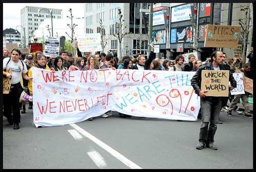 #occupyBXL 2012 10 | by :::mediActivista:::