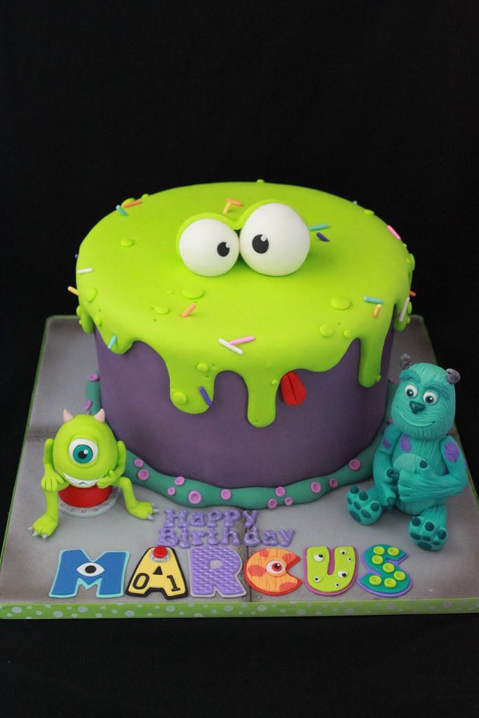 Monsters Inc cake Andrea Sullivan Flickr
