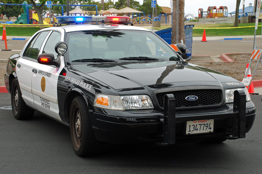 san diego police | ford crown victoria. | so cal metro | flickr