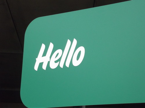 Morrisons Five Ways - sign - Hello | by ell brown