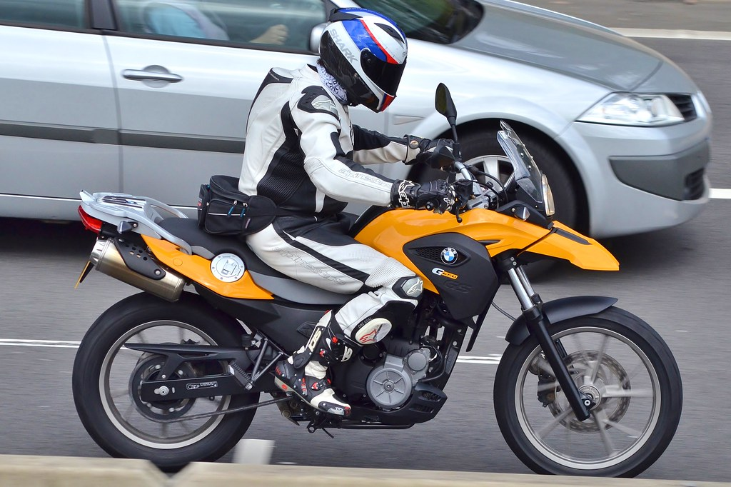 BMW GS650 | Seen on the M4 in Newport. | Charles Dawson | Flickr
