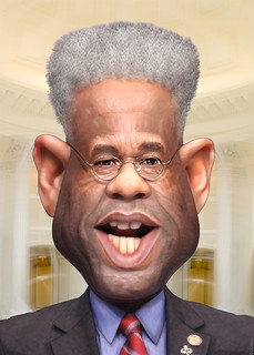 Allen West - Caricature | by DonkeyHotey