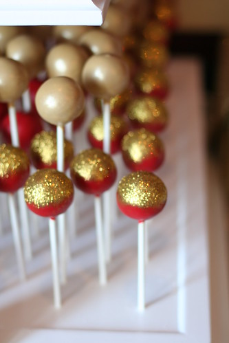 Gold Wedding Cake Pops | by Sweet Lauren Cakes