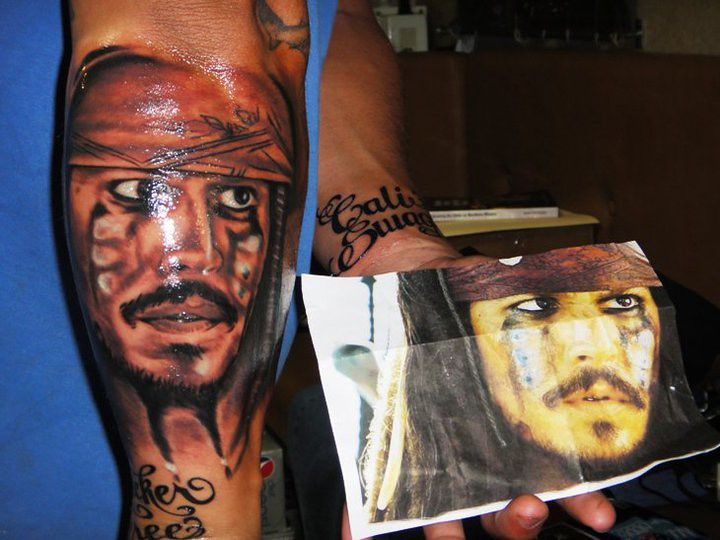 Pirates Of The Caribbean Tattoo Captain Jack Tasi Melah Flickr