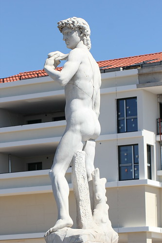 Copy of Michelangelo's famous David | by kvirk