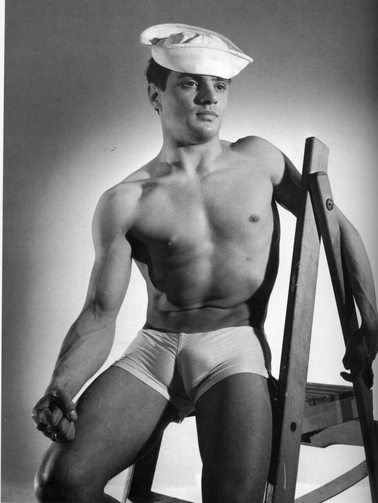 sailors beefcake Vintage