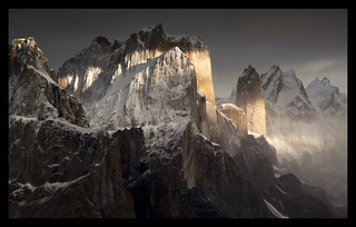 great trango and nameless tower | by doug k of sky