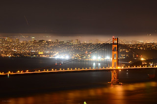 The Golden Gate at Night | by chrisstreeter