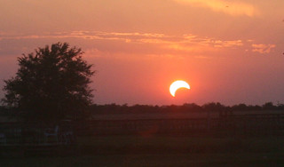 partial solar eclipse 5/20/12 | by no stone unstrung