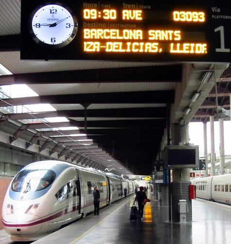 Ave 300km hr train madrid puerta de atocha estacion madr flickr - Puerta de atocha ave ...
