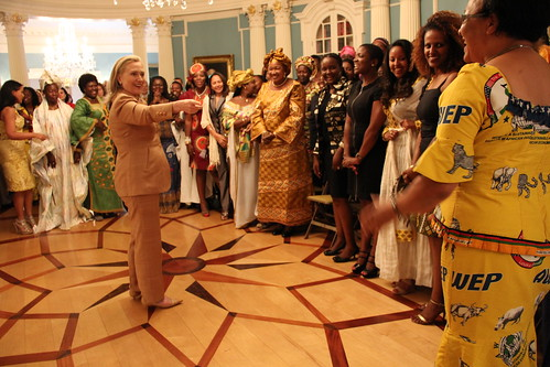 Secretary Clinton Greets African Women's Entrepreneurship Program Participants | by U.S. Department of State
