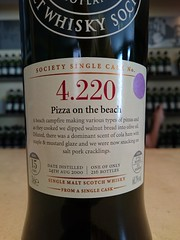 SMWS 4.220 - Pizza on the beach