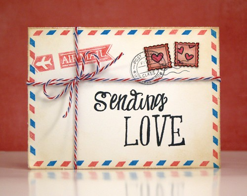 sendingLove | by Lawn Fawn Design Team