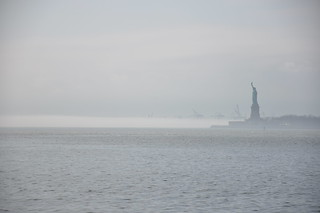 Statue of Liberty in the fog | by proteinbiochemist