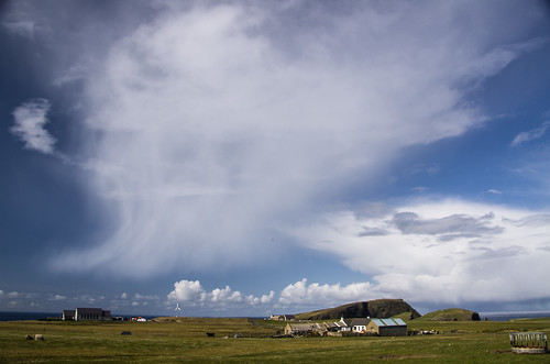 08.19 UTC The development and decay of a cumulonimbus southwest of Fair Isle. | by dawadderman
