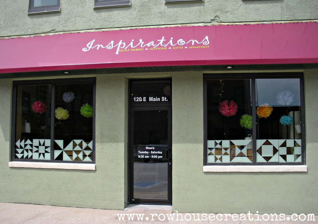 Inspirations Quilt Shop In Hills Ia This One Is So Worth Flickr