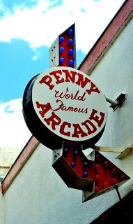 Penny Arcade Sign in Manitou Springs | by bradleygee