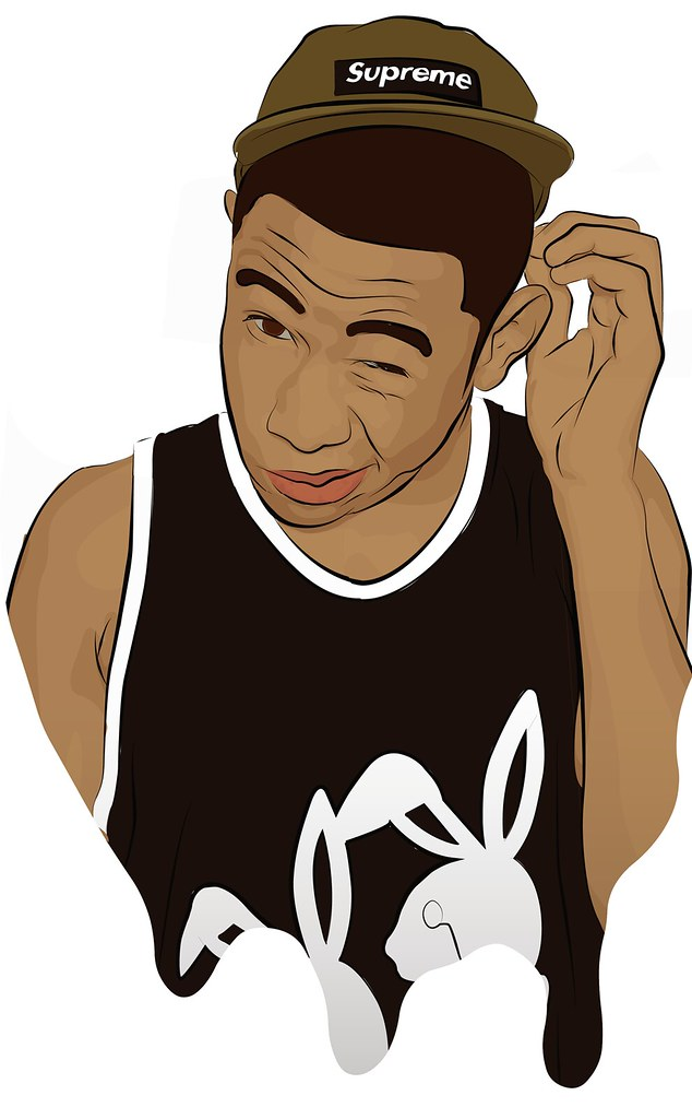 tyler the creator contour drawing vector illustrator bambo flickr rh flickr com vector creator mac vector creator mac