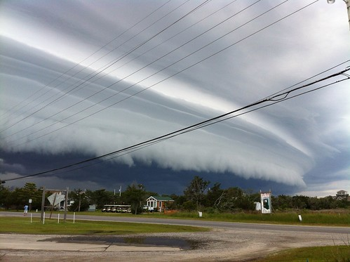 Shelf Cloud Over Hatteras | by Waldo Jaquith