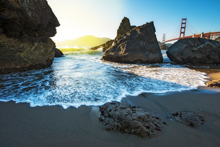 The Golden Gate Bridge from Marshall Beach | by kern.justin