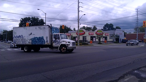 Classic eyes truck rolling through Sauga | by SCT CLANDEM aint nothing to fuck with