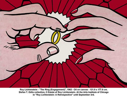 "Roy Lichtenstein - ""The Ring (Engagement)"", 1962 