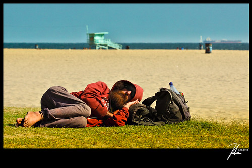 Venice Beach California - An Afternoon Nap | by Hsin Tai Liu
