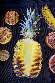 grilling fruit: food photo by Jackie Alpers | by Jackie Alpers