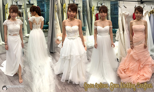 Wedding Crafters Bridal Gowns | by tiffanyyongwt