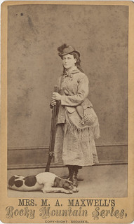 Martha Maxwell, Wildlife Collector and Taxidermist - Carte de Visite | by Photo_History - Here but not Happy