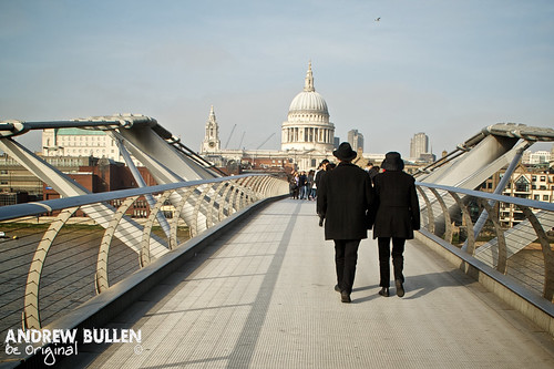 Millenium Bridge St Paul's - London | by Andy Bullen
