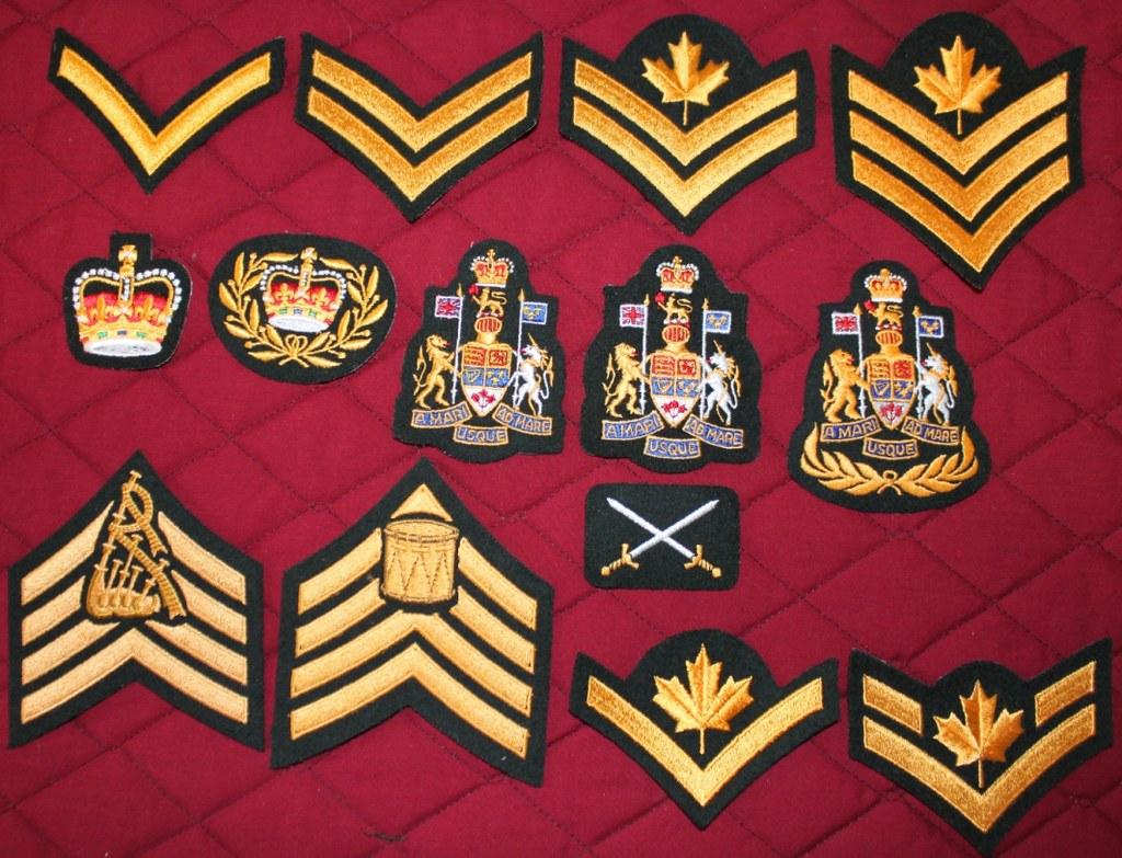 Canadian Army Nco Rank Male Ranksuniform Jacket Tunic Cana Flickr