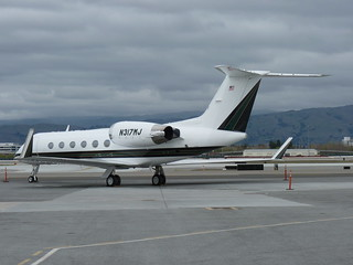Gulfstream N317MJ at SJC | by SJCSpotter