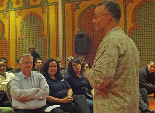 African Lion TF commander addresses Executive Leadership Development participants in Morocco | by USAFRICOM