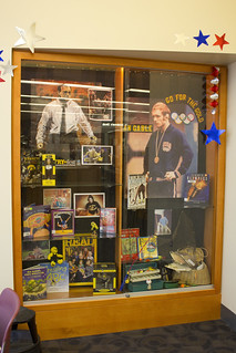 Dan Gable Display: April 2012 | by Iowa City Public Library