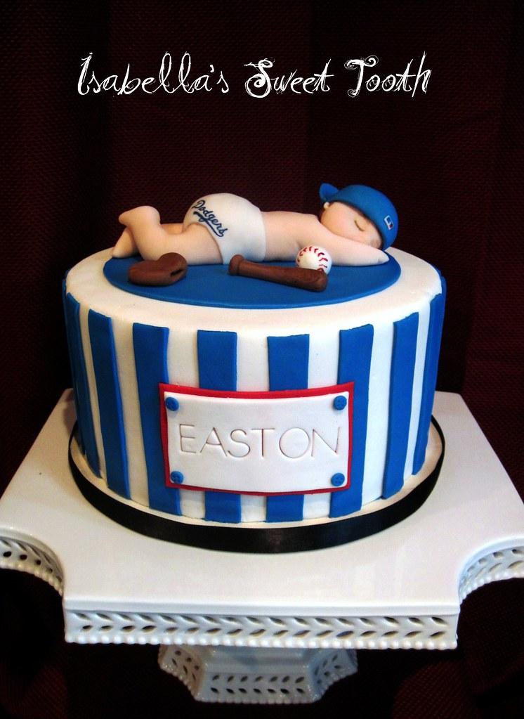 Dodger Baby Shower Cake Johanna Galvan Flickr