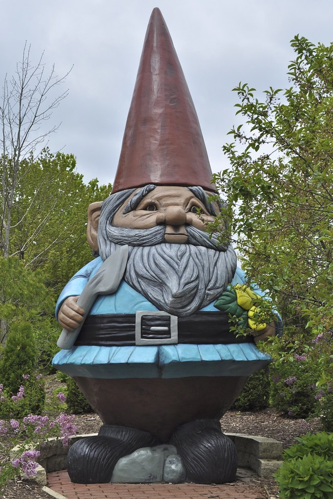 ... Giant Garden Gnome | By Scott McLeod