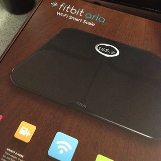 This is the world's way of saying I am fat. True! Thanks @fitbit for the scale that I must try out. | by Robert Scoble