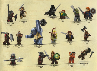 LotR minifig checksheets | by hmillington