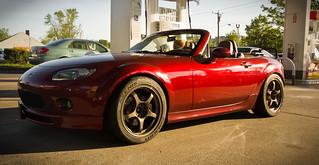 Copper Red 2006 NC Miata Bronze Wheels | by jumph4x