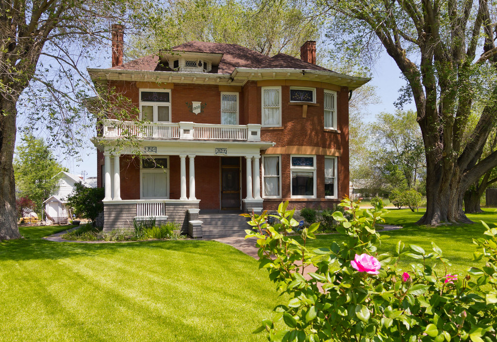Historic Brick Victorian House
