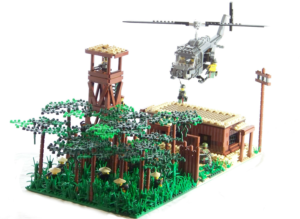 """Nam Scene Contest - """"All Along the Watchtower""""   U.S. troop…   Flickr"""