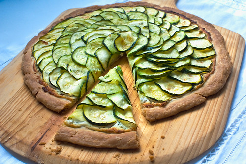 Zuchinni-Tart | by kathy jan