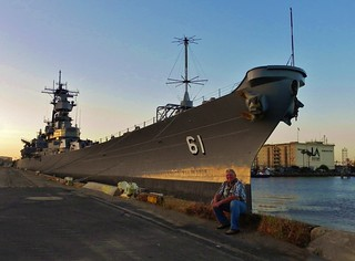 Putting the battleship USS Iowa to bed | by Konabish ~ Greg Bishop
