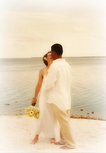 our wedding day, 10 years ago