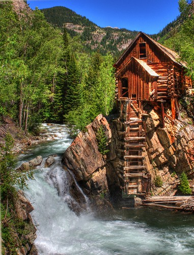 The Crystal Mill, Crystal, CO | by JusDaFax